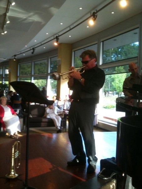 Steve At Jazz Gig